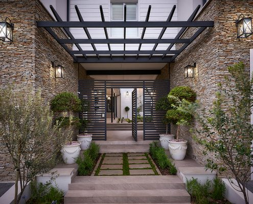 Courtyard House images